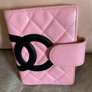 RARE  Chanel Pink Cambon Agenda